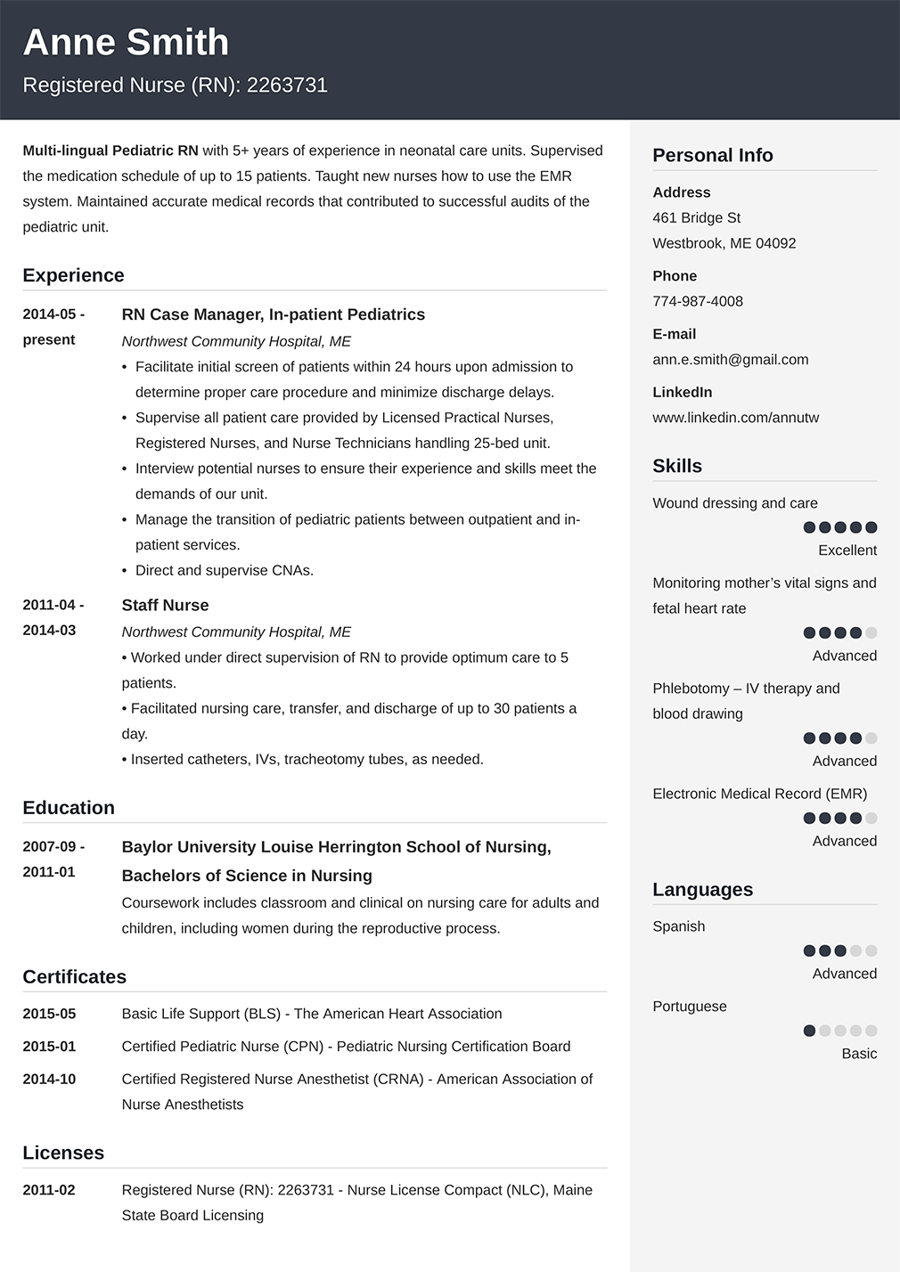 500 Free Resume Examples Sample Resumes For All Jobs