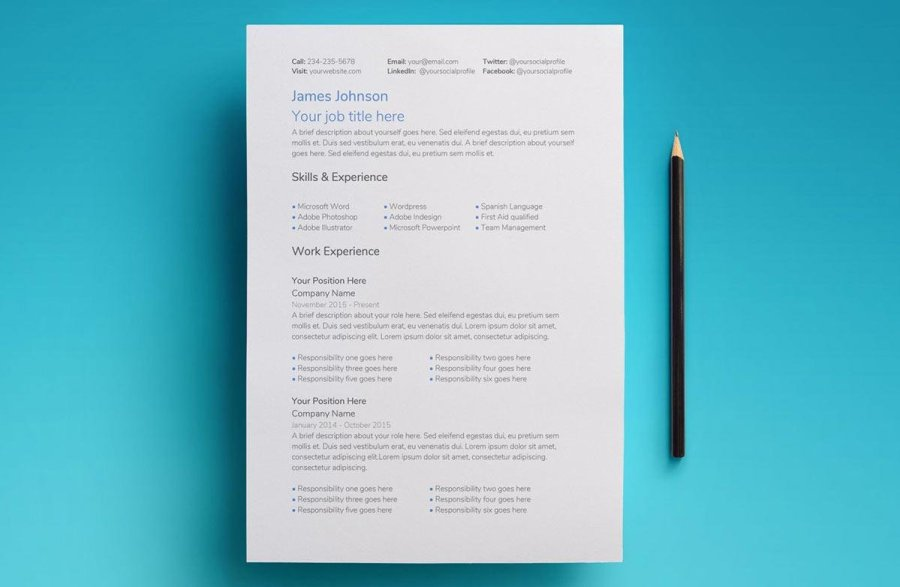Google Docs Resume Templates  10 Examples to Download   Use Now Saturn Google Docs Resume Template