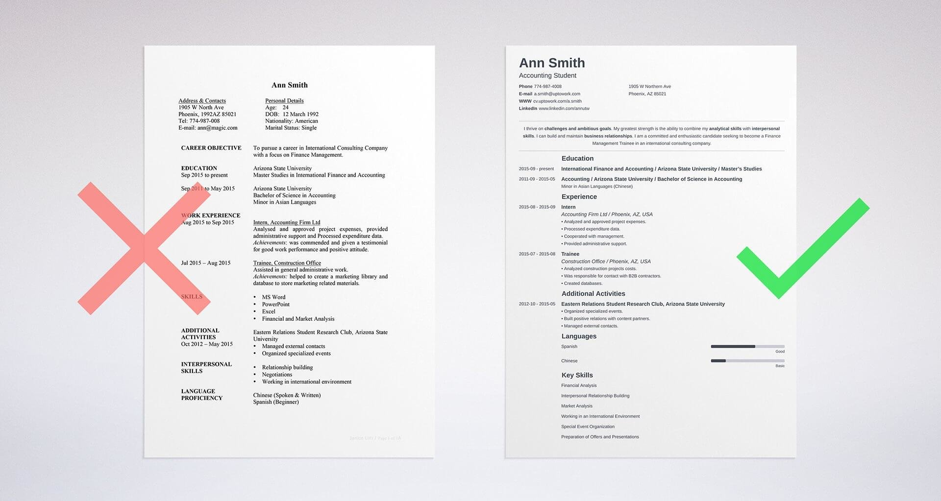 How To Make A Resume For A Job Professional Writing Guide