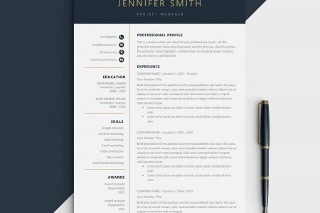 Modern Resume Templates   18 Examples  A Complete Guide  Executive Resume Template