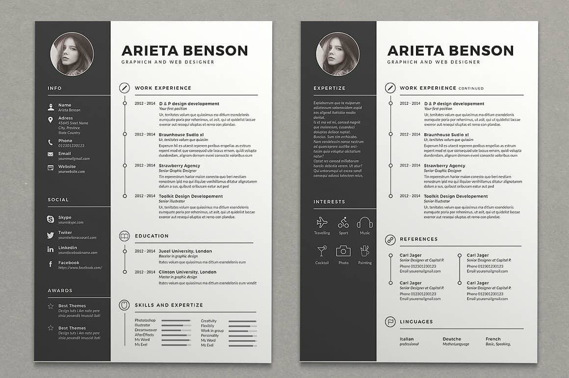 15 Resume Design Ideas Inspirations Amp TemplatesHow To Tutorial