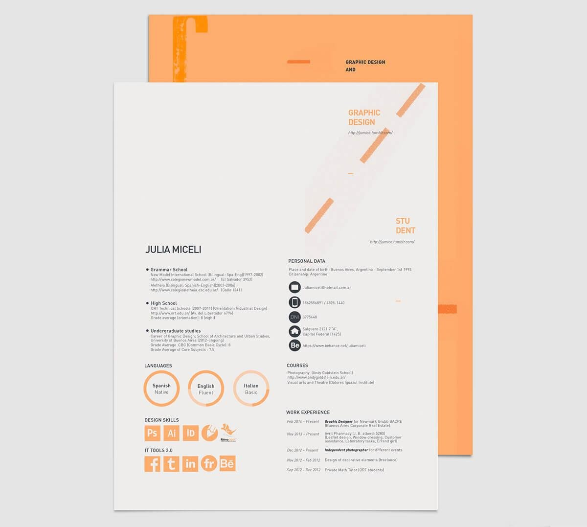 Student Resume Cv Templates 15 Examples To Download Amp Use Now