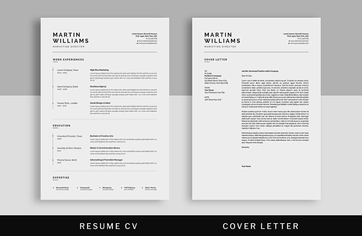 Two Column Resume 15 Templates To Download Free Included