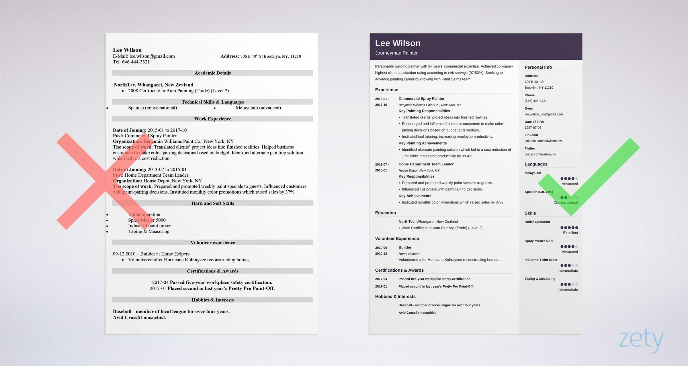 15 Unique Resume Templates To Download Use Now