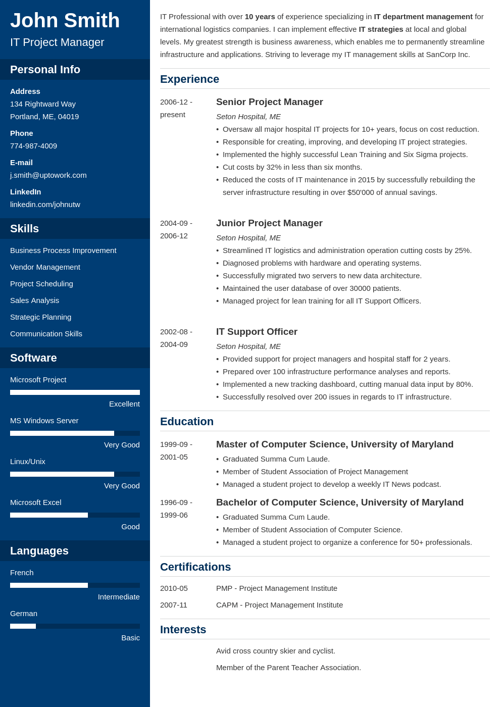 20 Resume Templates Fill In Format Download In 5 Minutes