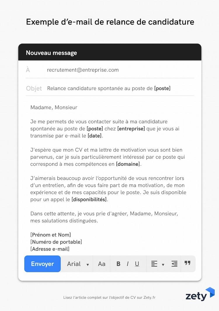 Comment Et Quand Relancer Une Candidature Par E Mail Tel