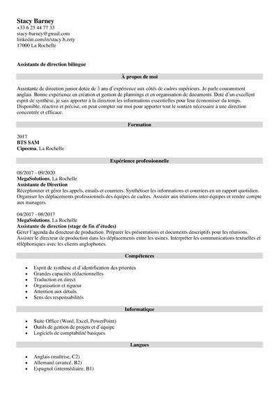 Titre Cv 20 Exemples Pour Attirer L Attention Des Recruteurs