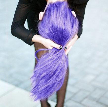 Colored Hair Gel Temporary Color Liquid From