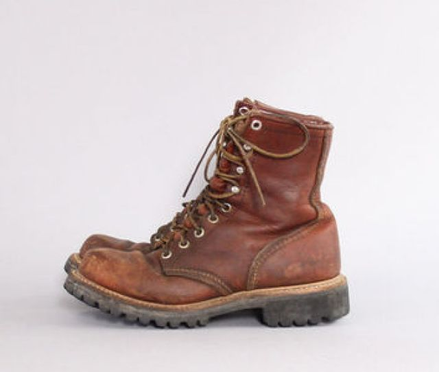 S Red Wing Womens Work Boots S Irish Setter Leather Lace Up Boots