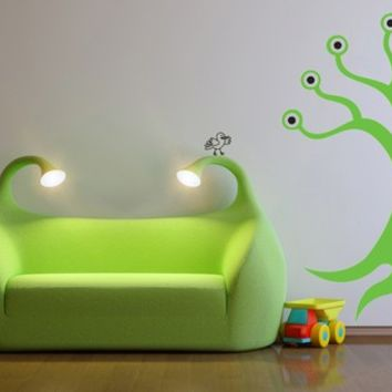 Monster Tree Inc Eye S Roots Decal Sticker Decoration On Wanelo