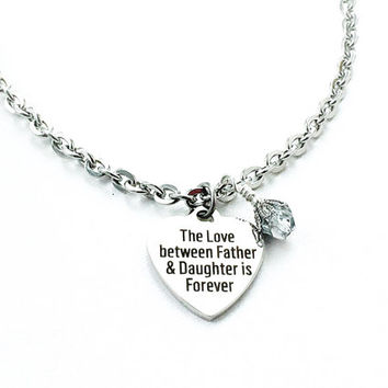 Father daughter jewelry the best daughter of 2018 father daughter necklaces 2istconf mozeypictures Choice Image