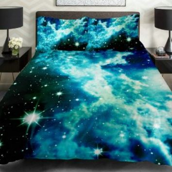 Anlye Galaxy Quilt Cover Galaxy Duvet From Amazon Epic