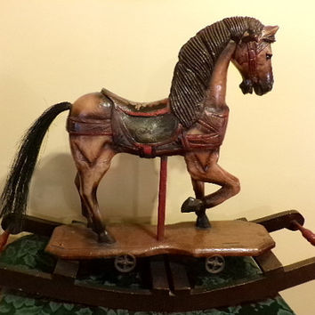 34 5cm Traditional Chinese Bronze Statue Leaping Horse Home Decor Br Sculpture 3 4kg