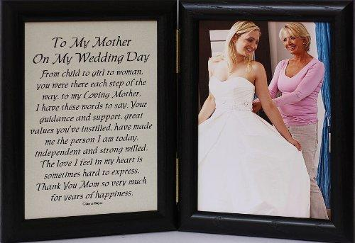5x7 Hinged TO MY MOTHER ON MY WEDDING DAY From Amazon