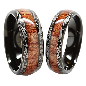 Best Wood Mens Wedding Bands Products On Wanelo