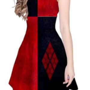 Harley Quinn Formal Dress     fashion dresses Harley Quinn Formal Dress
