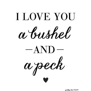 Download Best Love You A Bushel And A Peck Products on Wanelo