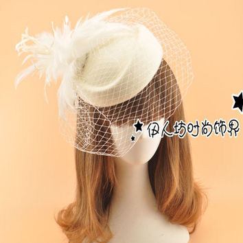 shop vintage feather hair accessories on wanelo