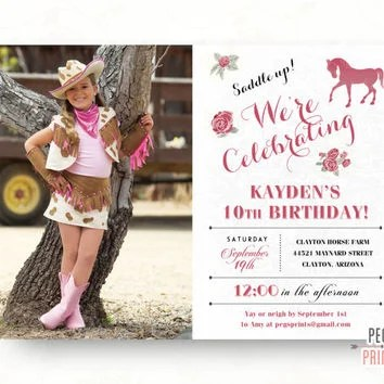 birthday invites remarkable horse party invitations - Horse Party Invitations