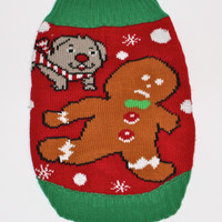 French Bulldog Light Up Tacky Ugly From The Ugly Sweater Shop