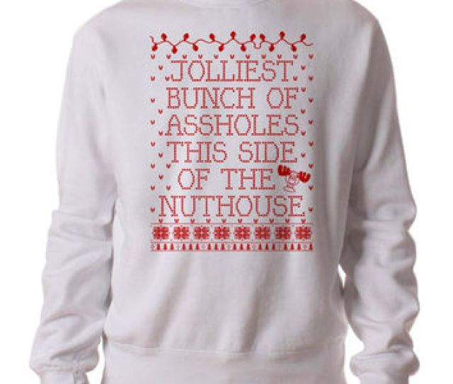 Jolliest Bunch Of Christmas Vacation  Sweater Man And Sweater Woman