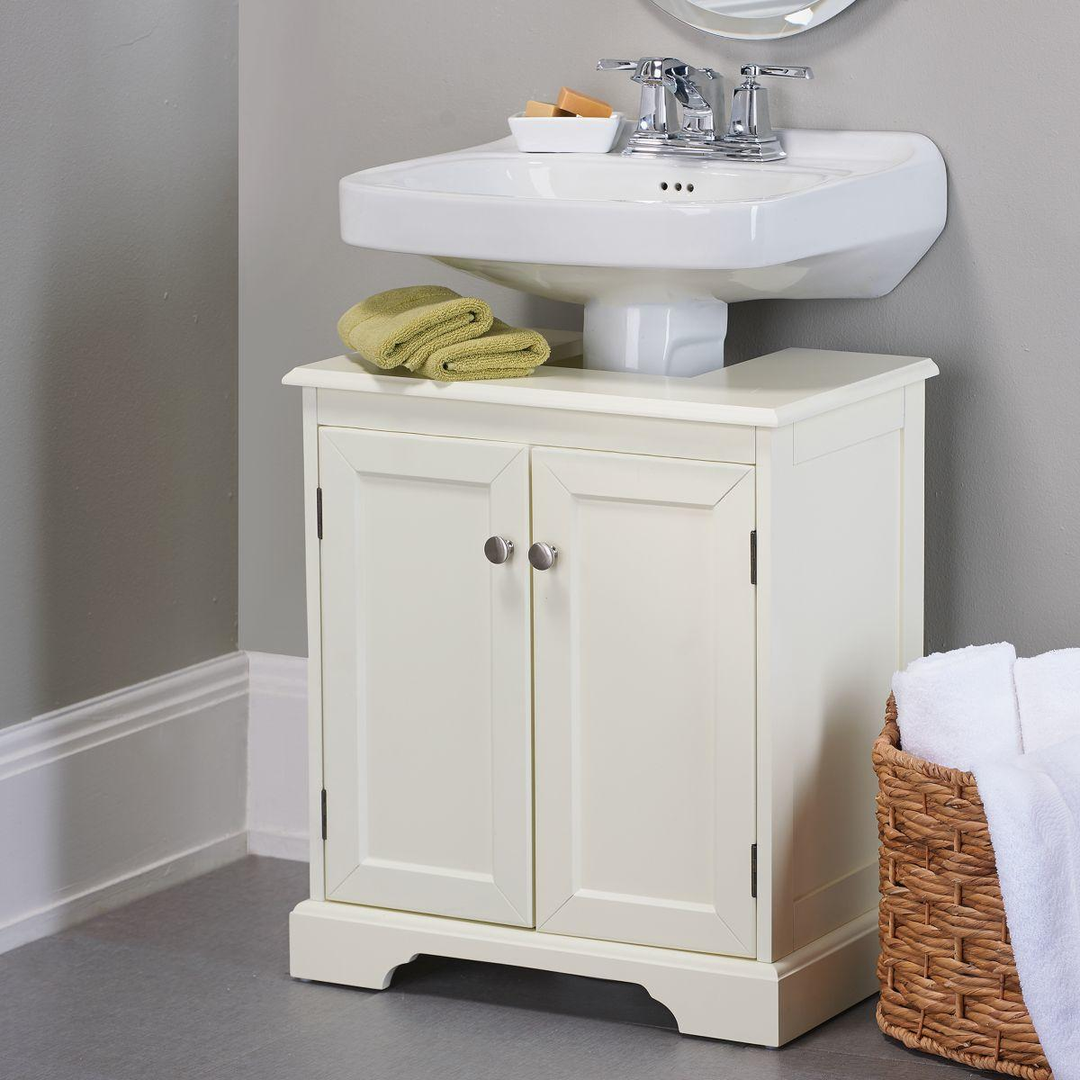 Weatherby Bathroom Pedestal Sink Storage From Improvements