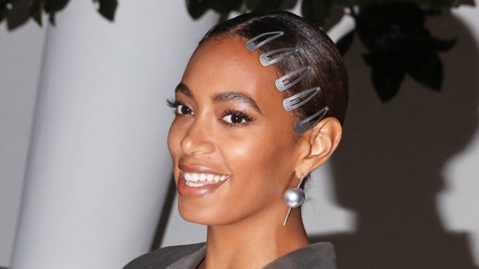 Solange Knowles Hair Clips
