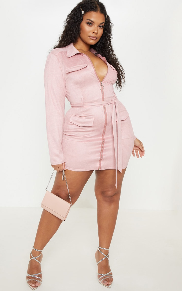 Sexy Plus Size Dresses For Women Prettylittlething Usa
