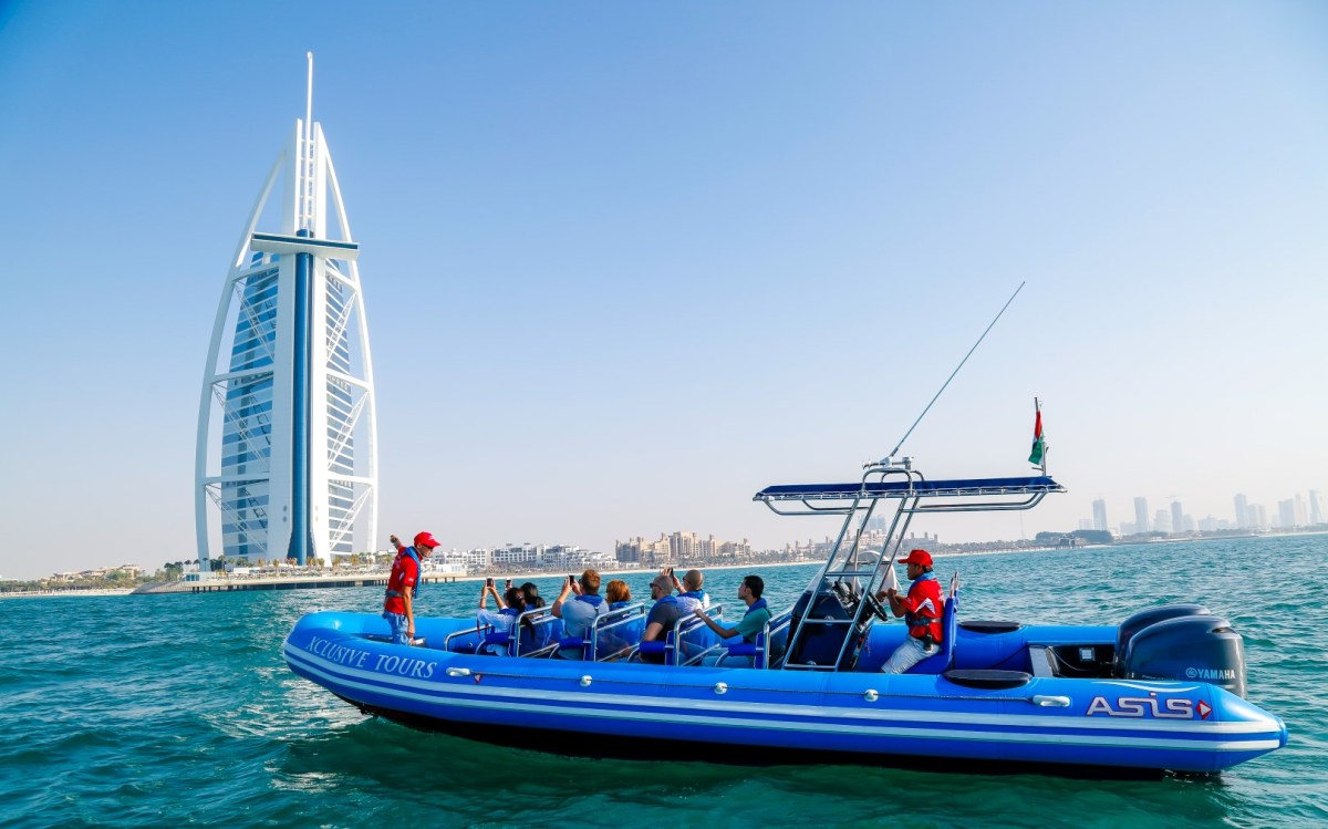 RIB Guided Tour | Sightsee Dubai in Style - Headout