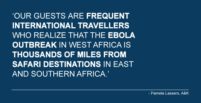 Ebola: is safari travel still safe?
