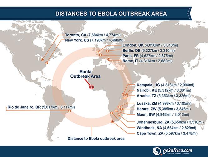 Ebola: is safari travel still safe? Infographic