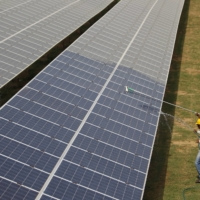 Despite its progress, India's solar push has some limitations including high capital costs, scarcity of land and the need for sunny weather.  | REUTERS