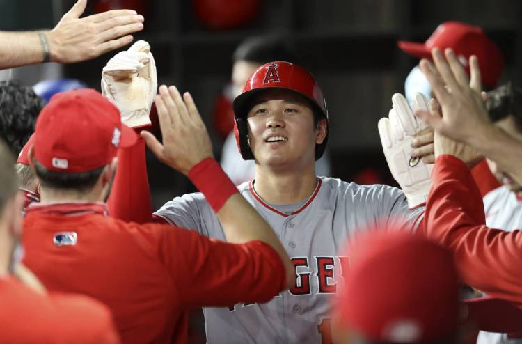 Angels' Shohei Ohtani gets first win since 2018 in two-way ...