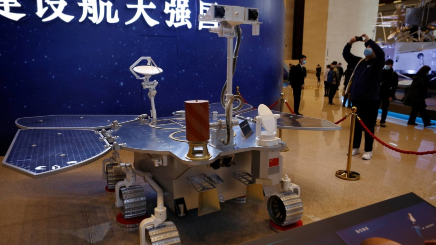 China lands on Mars, closing gap with U.S. in space exploration