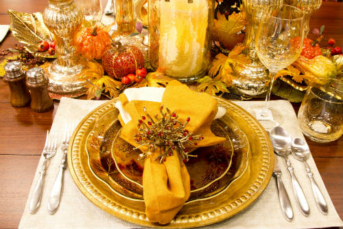 Image result for images restaurant fall table decorations