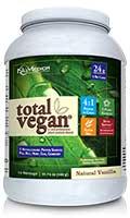 NuMedica Total Vegan Natural Vanilla 14 svgs professional-grade supplement