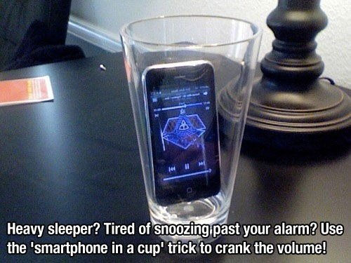tired of snoozing past your alarm