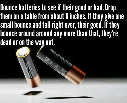 96 drop the battery