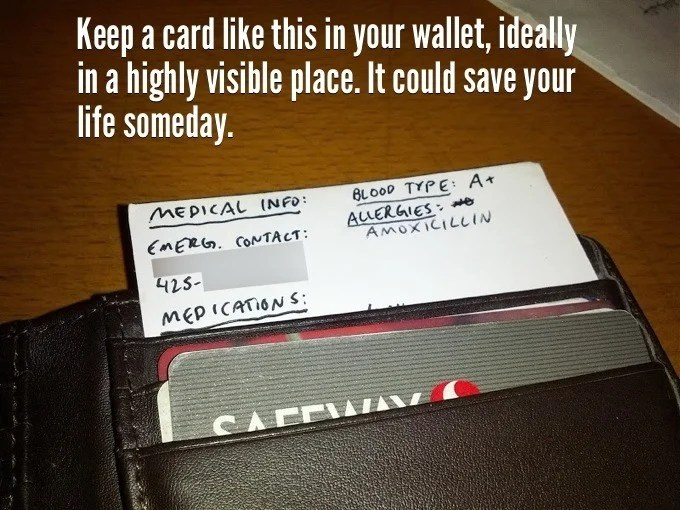 keep a card like this