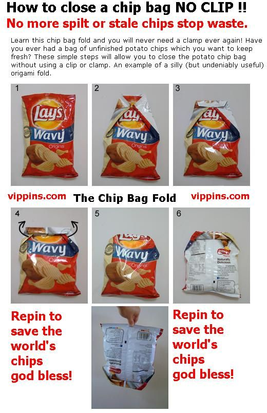 close chip bag