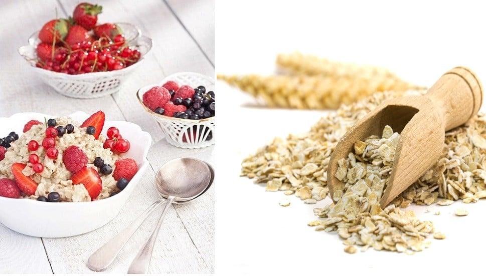 Oatmeal, Whole Grains, High-fiber, Food, Oat Bran