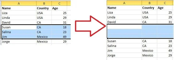 Add More Than One New Row/Column