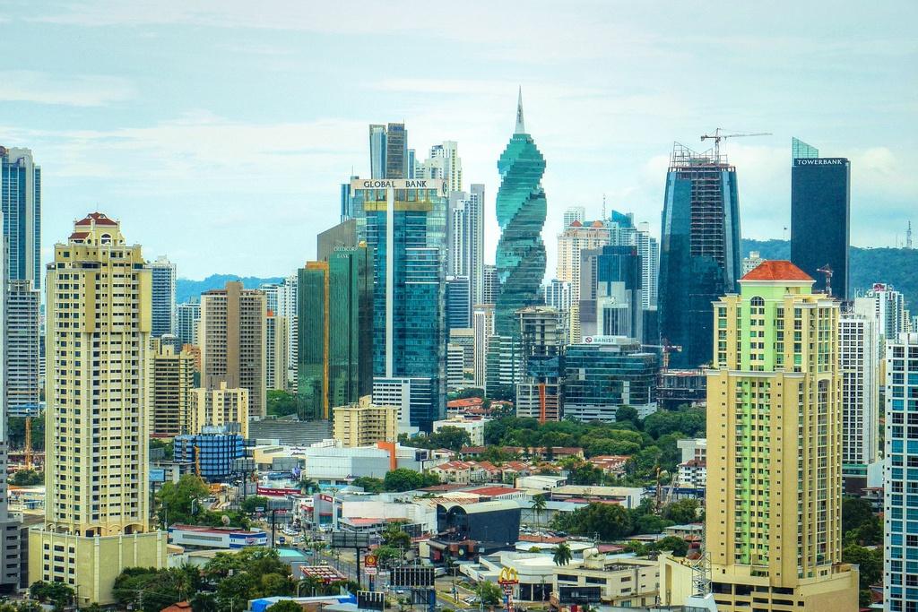 HDR of Panama City, Panama