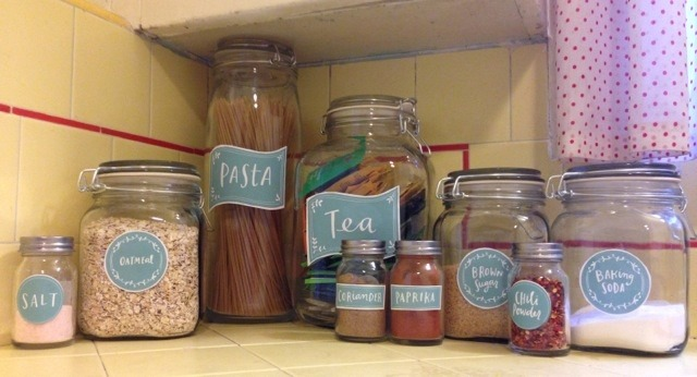 Labeling system for your pantry items
