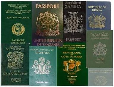 passports-of-Africa