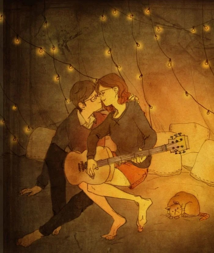 Love is magical moments