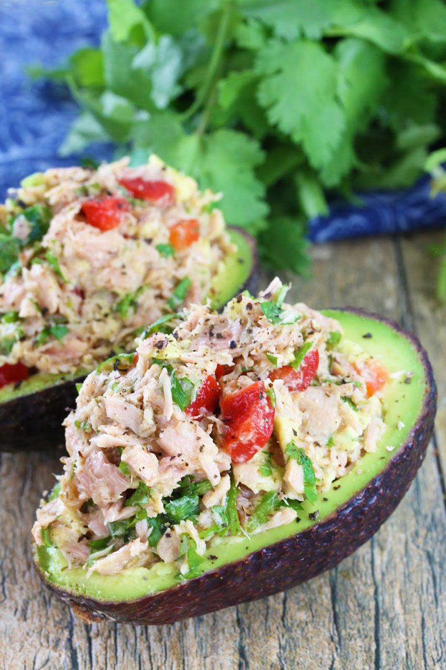 healthy-tuna-stuffed-avocado