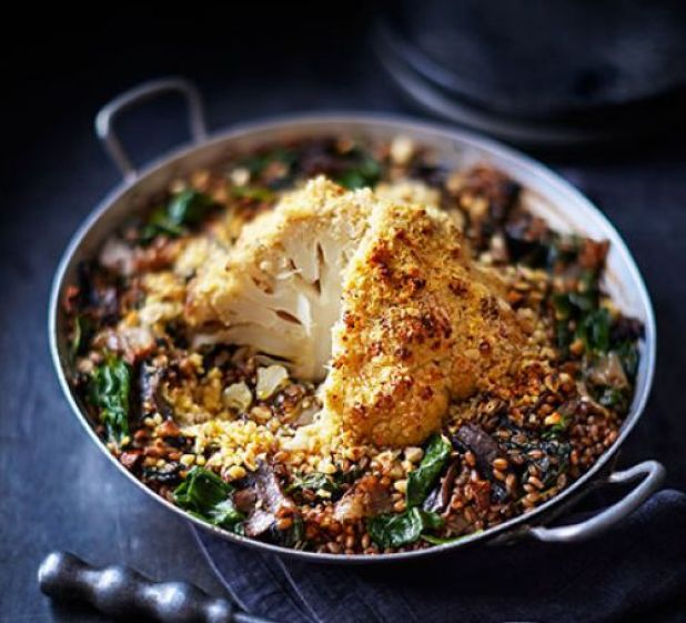 whole-roasted-cauliflower-with-red-wine-shallots-wheatberries