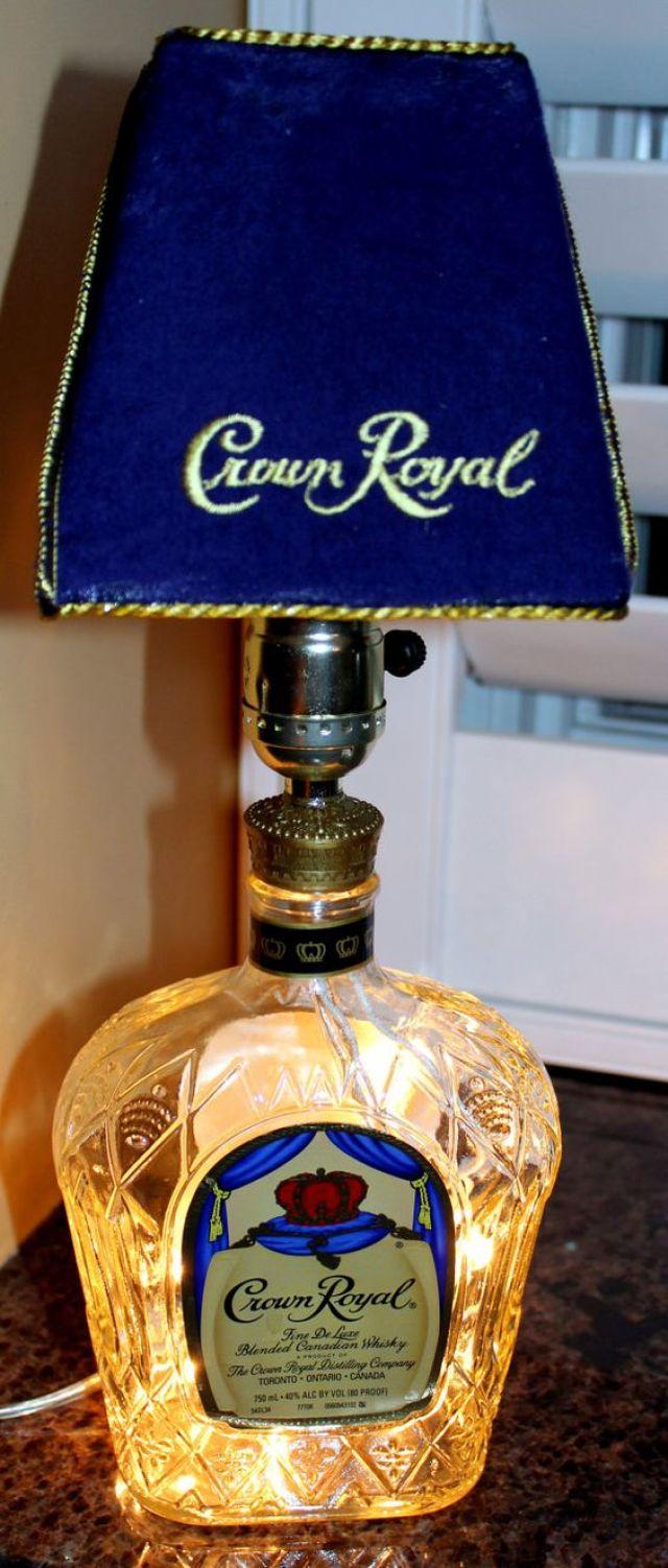 last minute gifts bottle lamp