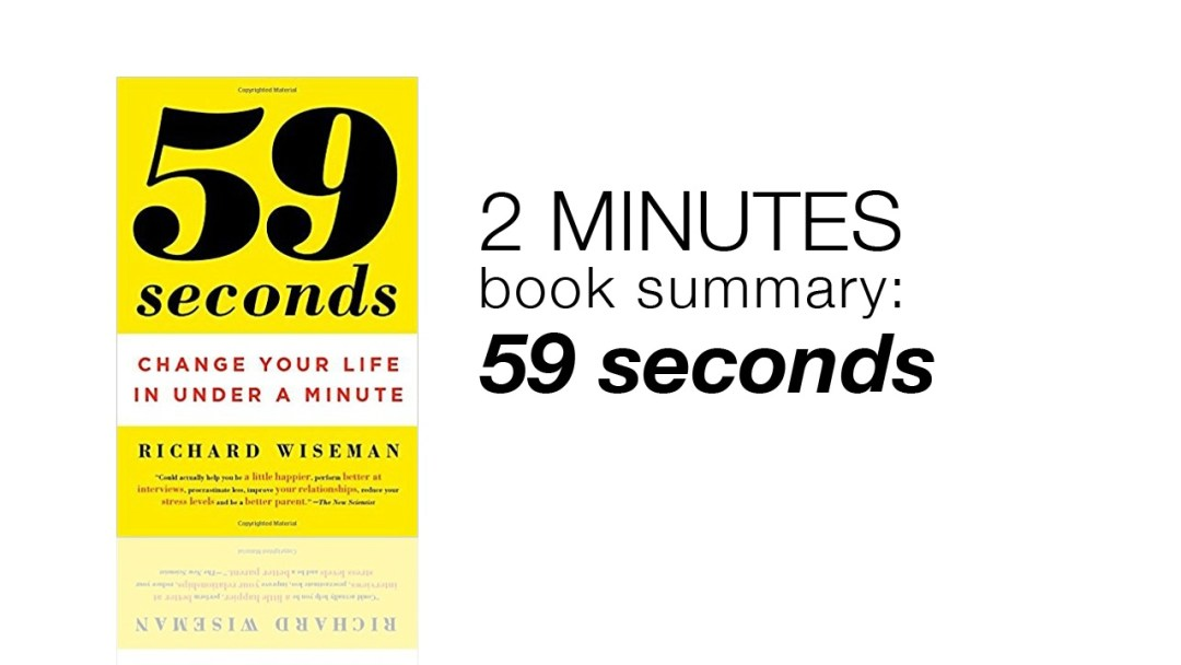 1 Minute Book Summary: 59 Second